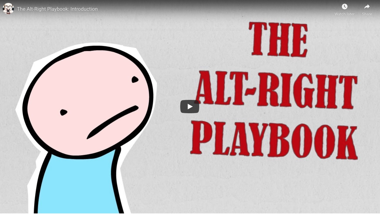 Alt-Right Playbook Innuendo Studios