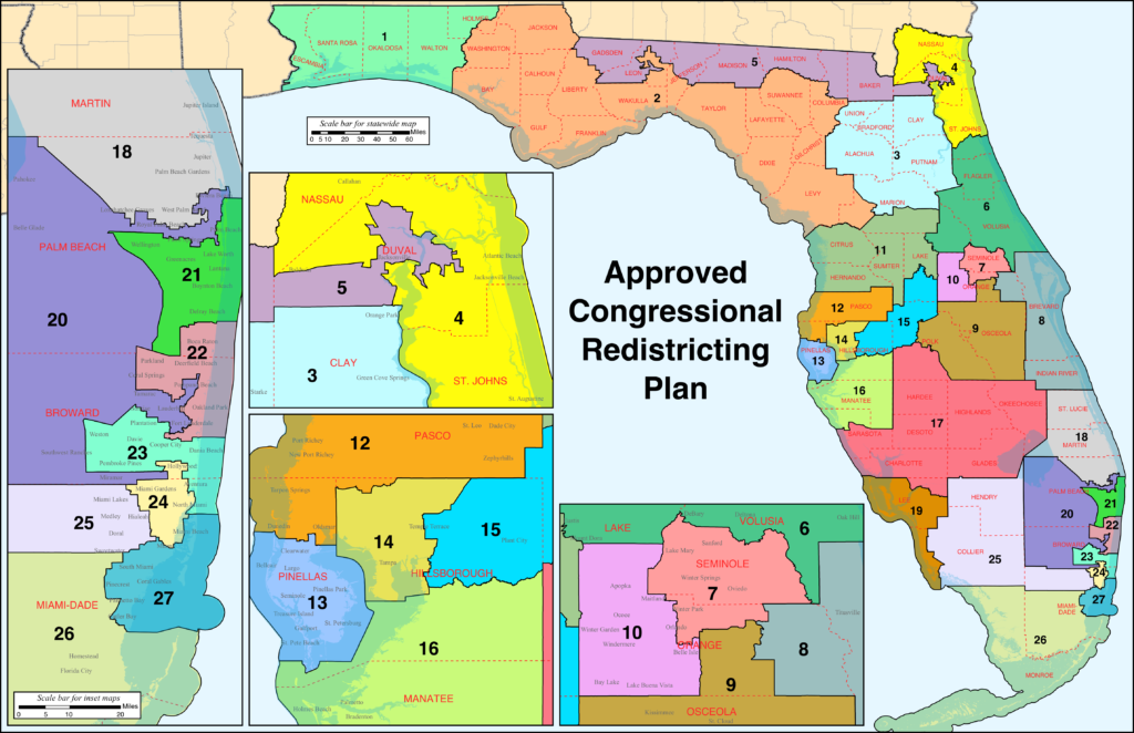 Florida Congressional Districts 2020